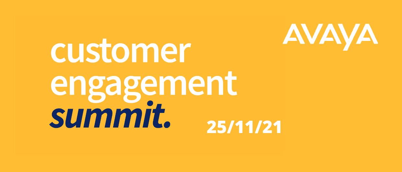 Customer Engagement Summit Nov 21